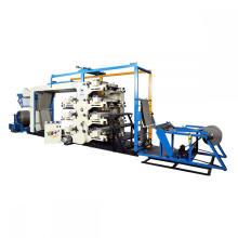 Máquina de impresión de prensa de letras flexibles de rollo a rollo