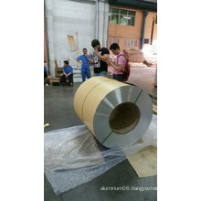 Embossed Aluminum Coil with Kraft Moisture Barrier