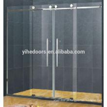 Porta do chuveiro vidro completo pingo de chuva