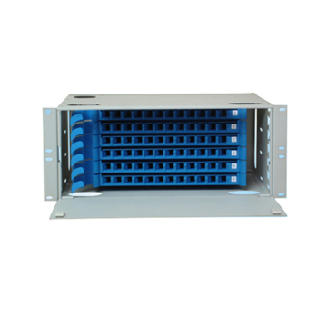 96 Pelabuhan Fiber Optic Patch Panel ODF