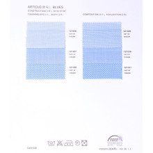 Free Sample 100% cotton plain and check design wholesale shirting fabric