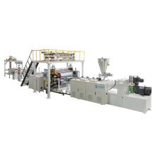 Maquinaria de procesamiento de pisos de PVC SPC