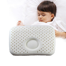 Natural Latex Baby Pillow Head Shape Protect Neck Healthy Soft for Infant Kids Crib Babycare