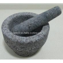 Granite Mortars and Pestles Size 13X9.5cm