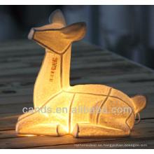 Lámpara de mesa animal de cerámica superventas para la decoración interior