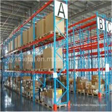 Matériel d'entrepôt Manutention de matériaux Rack de stockage de palettes lourdes
