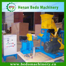 China floating fish feed pellet extruder machine / equipment for fish farming with CE 008618137673245