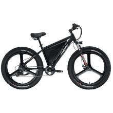 Электрический складной велосипед с толстыми шинами