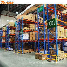 metal storage selective pallet rack for warehouse system