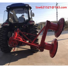 """High efficiency 40"""" 56""""Drum disc Mower pasture harvester"""