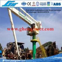 500 т / ч Плавающая электрогидравлическая транспортировка сыпучих материалов E-Crane