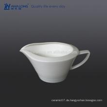 400ml große Kapazitäts-weiße Soße-Schüssel, Porzellan-Sauce-Schüssel Verkaufen Sie gut im westlichen Land