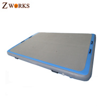 PVC and drop stitch material customized color anti slip water mat