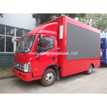 Vehicle Mounted Advertising Led Display Truck