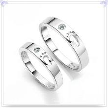 Jóia de cristal jóias anel de moda 925 jóias de prata esterlina (CR0006)