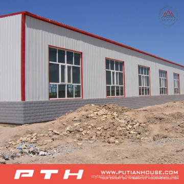 Almacén económico prefabricado modificado para requisitos particulares de la estructura de acero con instalación fácil