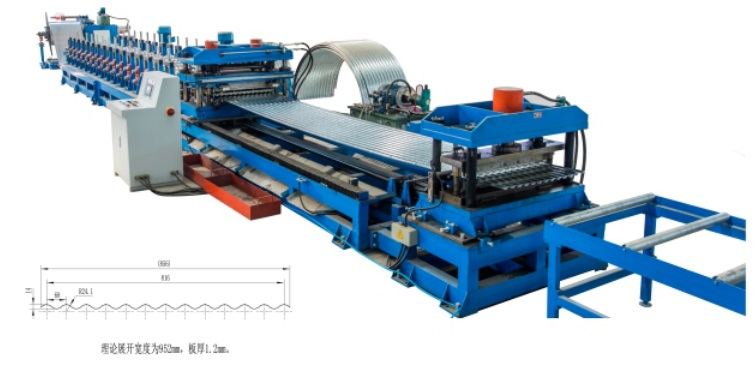 Roll Forming Line for Silo Panel
