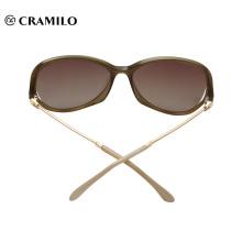 Marca moda nuevo estilo Italia diseño cobre marco gafas de sol