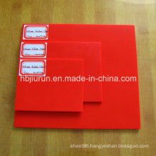 2mm Thickness Red Silicone Sheet