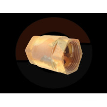 Brass Spring Loaded Check Valve F x F (Female Threaded Ends)