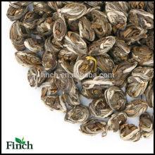 Beneficios para la salud Flor de jazmín natural Perfumado de Phoenix Perlas de Phoenix Té verde con ramo de jazmín