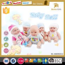 Venta al por mayor caliente artículo 5 real realista renacido bebé muñeca