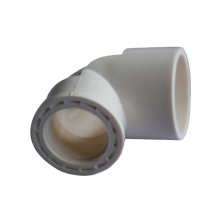 Plastic Pvc Drainage Water 90 120  Degree Threaded Elbow Pvc  Pipe Fitting