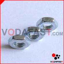 DIN 439 DIN 936 Тонкие гайки с цинковым покрытием
