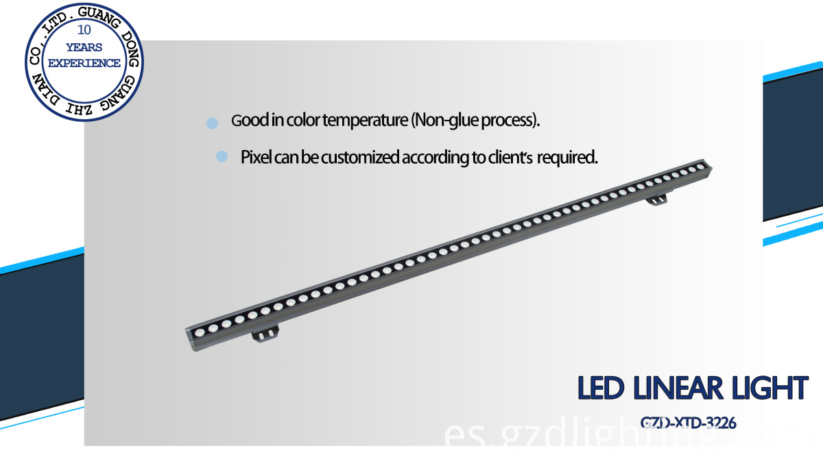 aluminum led linear light