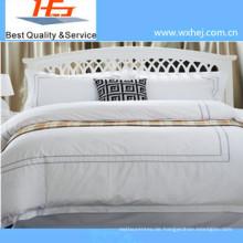 Hochwertige Stickerei Bettbezug Set mit Reißverschluss Stil
