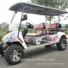 Four Seater Gas Powered Golf Cart