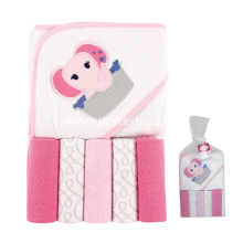 Terry Warm Bamboo Baby Hooded Towel Bath Towel