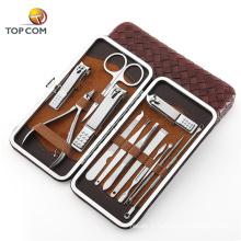 Projetos de ferramentas de kit de unhas manicure francesa multi-função