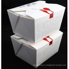 Экологичный Пропуск Еды, Горячее Сбывание Изготовленный На Заказ Напечатанная Бумага Лапша Коробка