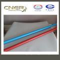 tubo de fibra de vidrio de colores, tubo de fibra de vidrio plateado, varilla de fibra de vidrio Skype: zhuww1025 / WhatsApp (móvil): + 86-18610239182