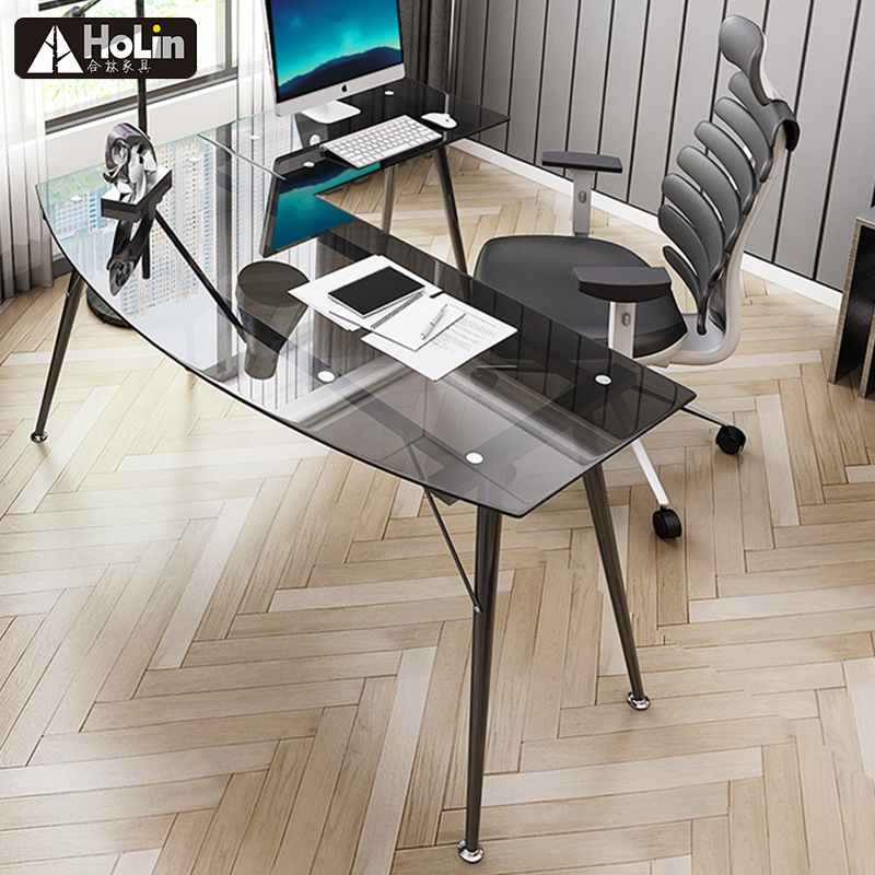 New design of glass office table