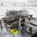 Станок для резки радиальных конденсаторов с быстродействующим резистором