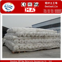Pet Staple Fiber Needle Punched Nonwoven Geotextile