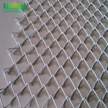 Galvanized 6ft Chain Link Fencing dengan Wire Barbed