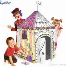 Playhouse en carton bricolage pour les enfants