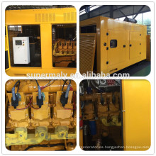 Supermaly 100KW Generador de gas con el controlador Deepsea