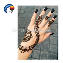 Индия Стиль Хна Индия Хна Личности Тела Временные Татуировки Stenicls
