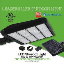 2017 New deisign led shoebox dlc retrofit led for shoebox high brightness 400w parking lot led lights