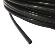 Schwarzer PTFE-Kunststoffschlauchgetriebekabelführungsschlauch