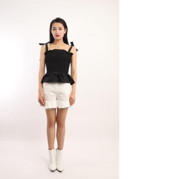 LADIES ELASTIC BUSTIER TOP