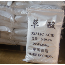 Oxalic acid CAS NO.144-62-7