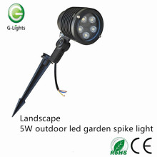 Landscape 5W outdoor led spike light