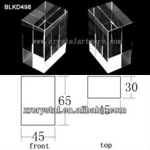 K9 Blank Crystal for 3D Laser Engraving BLKD498