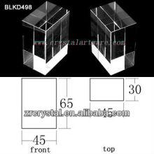 K9 Branco cristal para BLKD498 de gravura do Laser 3D