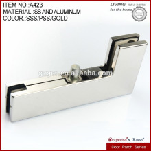 hot sales L shape gass door clamp patch fittings